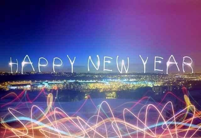 Neujahr - Frohes neues Jahr