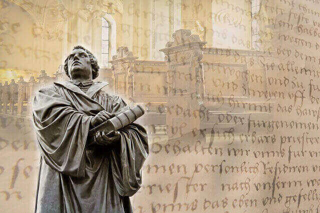 Reformationstag, Reformationsfest - Martin Luther